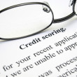 Credit scoring — Stock Photo #9399799
