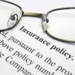 Insurance policy — Stock Photo #9399865