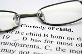 Custody of child — Stock Photo