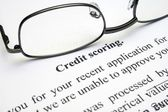 Credit scoring — Stock Photo