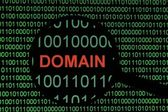 Domain — Stock Photo