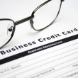 Business credit card application — Stock Photo #9785053