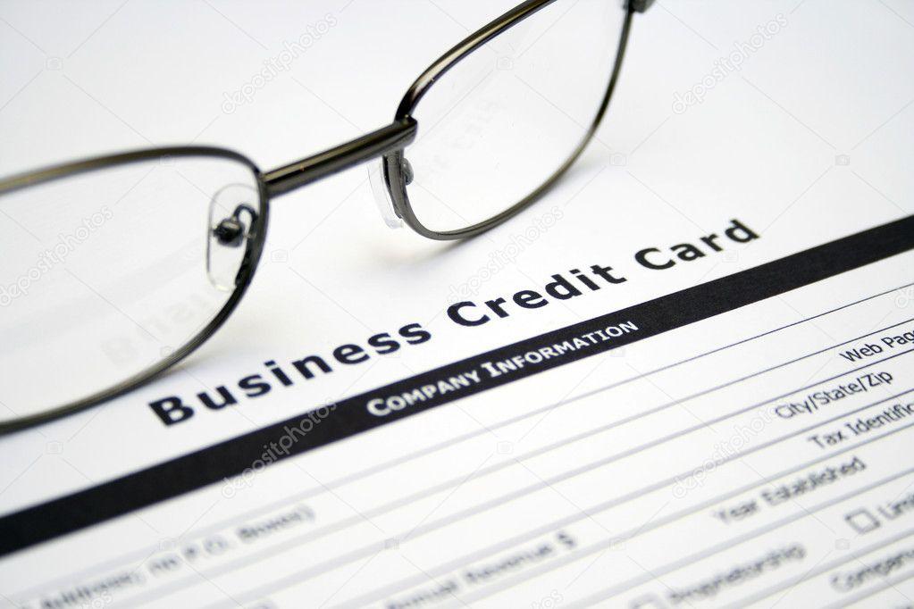 ansökan om kreditkort