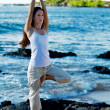 Tree Pose - Stock Photo