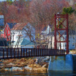 Maine Village — Stock Photo