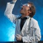 Taking His Own Medicine — Stock Photo #9269582