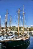 Sailboats of Maine — Stock Photo