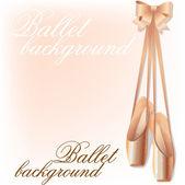 Ballet background — Stock Vector