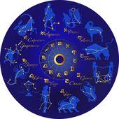 Zodiac — Stock Vector