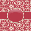 Royalty-Free Stock Vector Image: Art retro red ornate cover