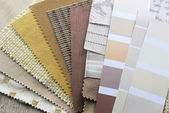 Home decoration repair upholstery planning — Stock Photo