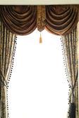 Luxury curtain — Stock Photo