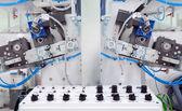 Impresión detalles de la máquina — Foto de Stock