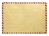 Vintage brown envelope — Stock Photo