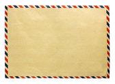 Vintage brown envelope — Stock Photo
