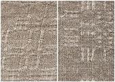 Homespun linen cloth — Stock Photo