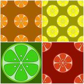 Hintergrund, Zitrusfrüchte — Stockfoto