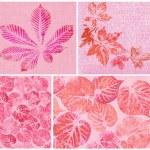 hojas, pintadas sobre lienzo — Foto de Stock   #8453533