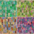 Mohair mosaic - Photo