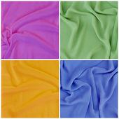 драпированные ткани, набор — Стоковое фото