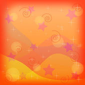 Abstract background, orange — Stock Photo