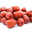 Red date on white — Stock Photo #10103763