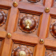 Temple door bells in india temple - Stock Photo