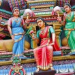 Stock Photo: Hinduism statues