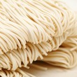 Chinese white noodle close up - Stock Photo