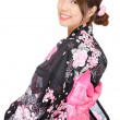 Japanese kimono woman — Stock Photo #10141618