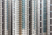 Public apartment block in Hong Kong — Stock Photo