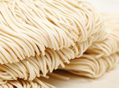 Chinese white noodle close up — Stock Photo