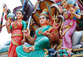 Hinduism statues — Stock Photo
