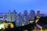 Crowded urban at night — Stok fotoğraf