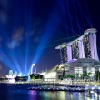Singapore by night — Lizenzfreies Foto