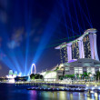 Singapore by night — Stock fotografie