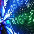 Stock market price display abstract - Stockfoto
