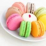 Colorful macaroon — Stock Photo