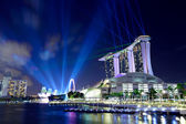 Singapore by night — Zdjęcie stockowe