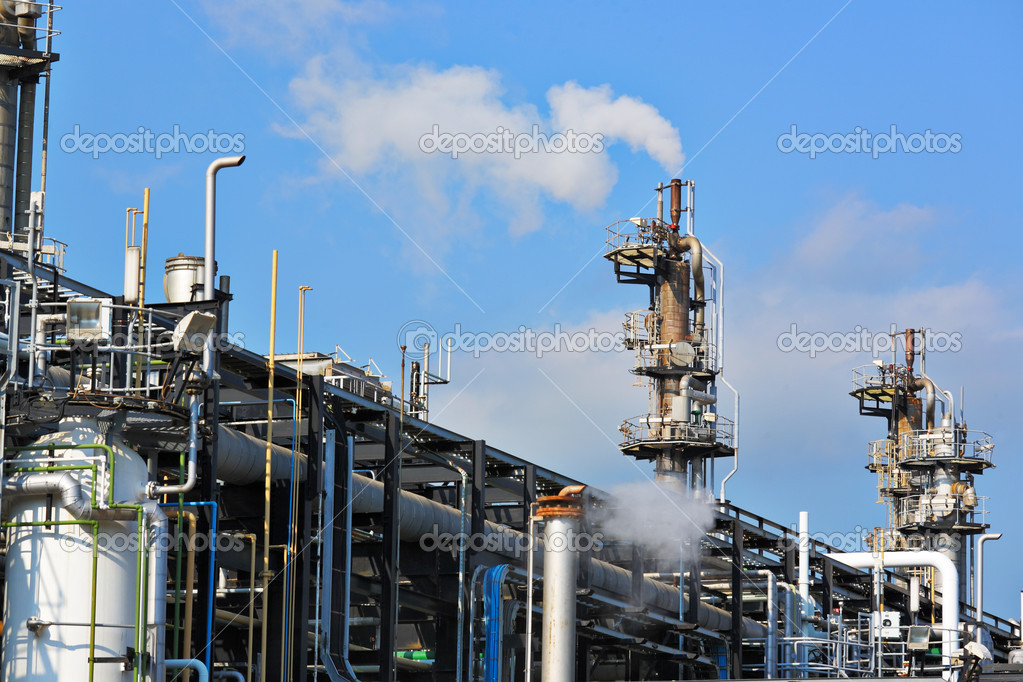 Gas industry — Stock Photo #10578097