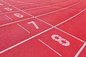 спорт беговая дорожка — Стоковое фото