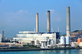 Coal fire power plant — Stock Photo