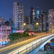 Modern city at night — Stock Photo #8232314