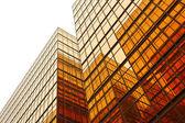 Bygga glasvägg — Stockfoto