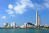 Coal fired electric power plant — 图库照片