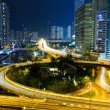 Highway in city at night — Stock Photo #8265289