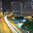 Highway in city at night — Stock Photo #8265360