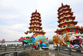 Dragon Tiger Tower — Stock Photo