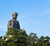 Big Buddha in Hong Kong — Stock Photo