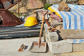 Construction equipment — Stockfoto
